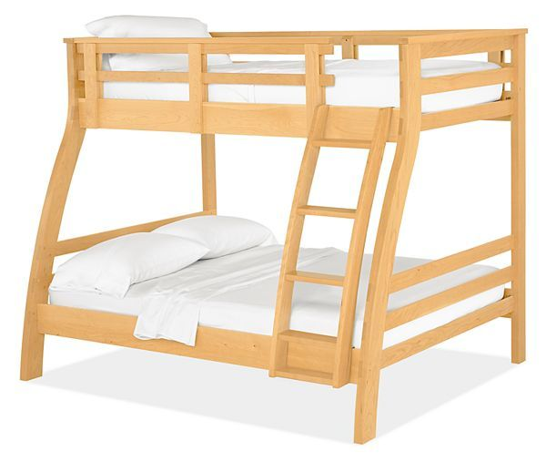 Minimalist The Pennsylvania made Griffin kids duo bunk bed features solid construction and a smooth Simple Elegant - Simple solid bunk beds Trending