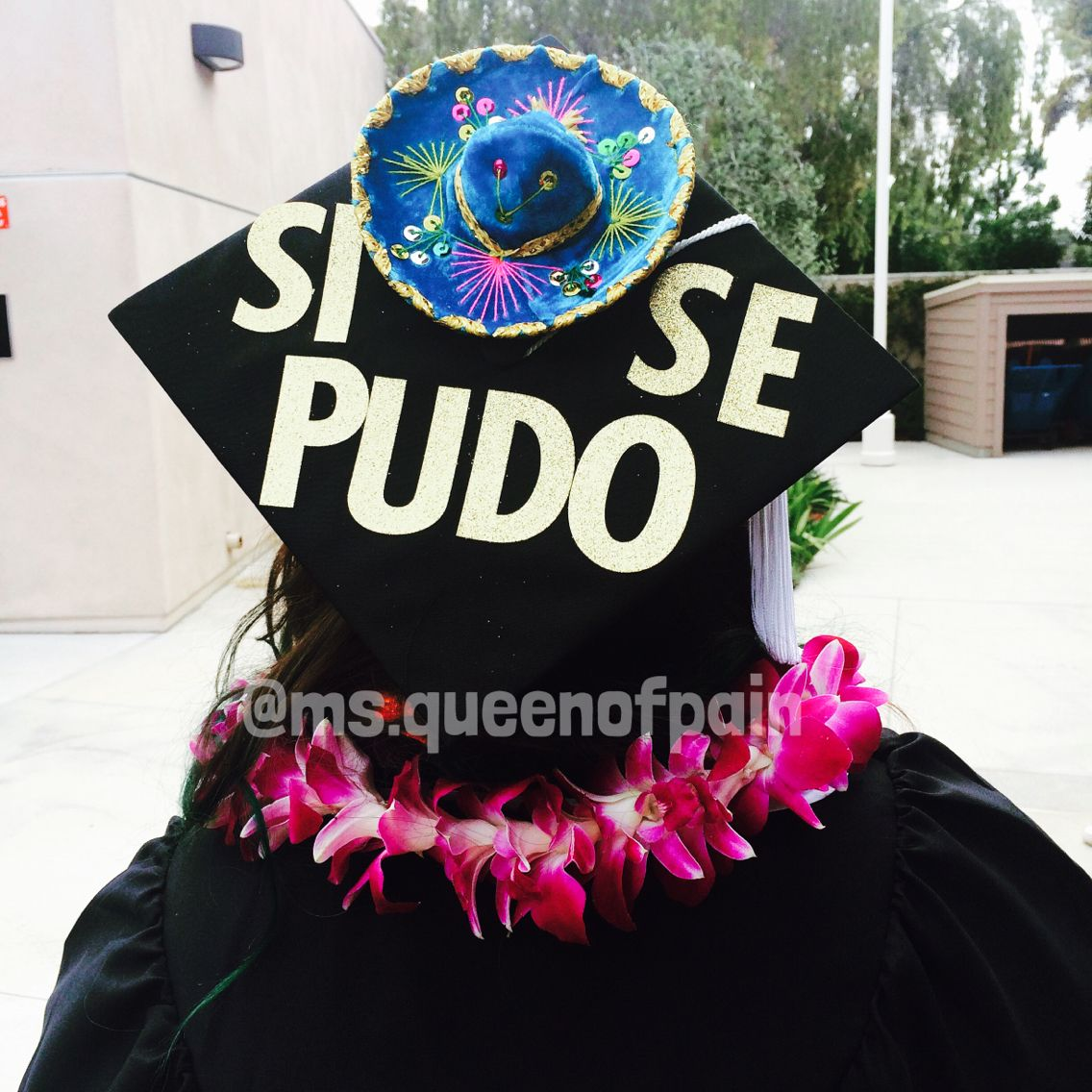 Decorating Graduation Cap Ideas For Teachers - Heritage graduation cap chicana proud csuf graduationcap gradcap co2015 decorated graduation capsgraduation cap designsgraduation