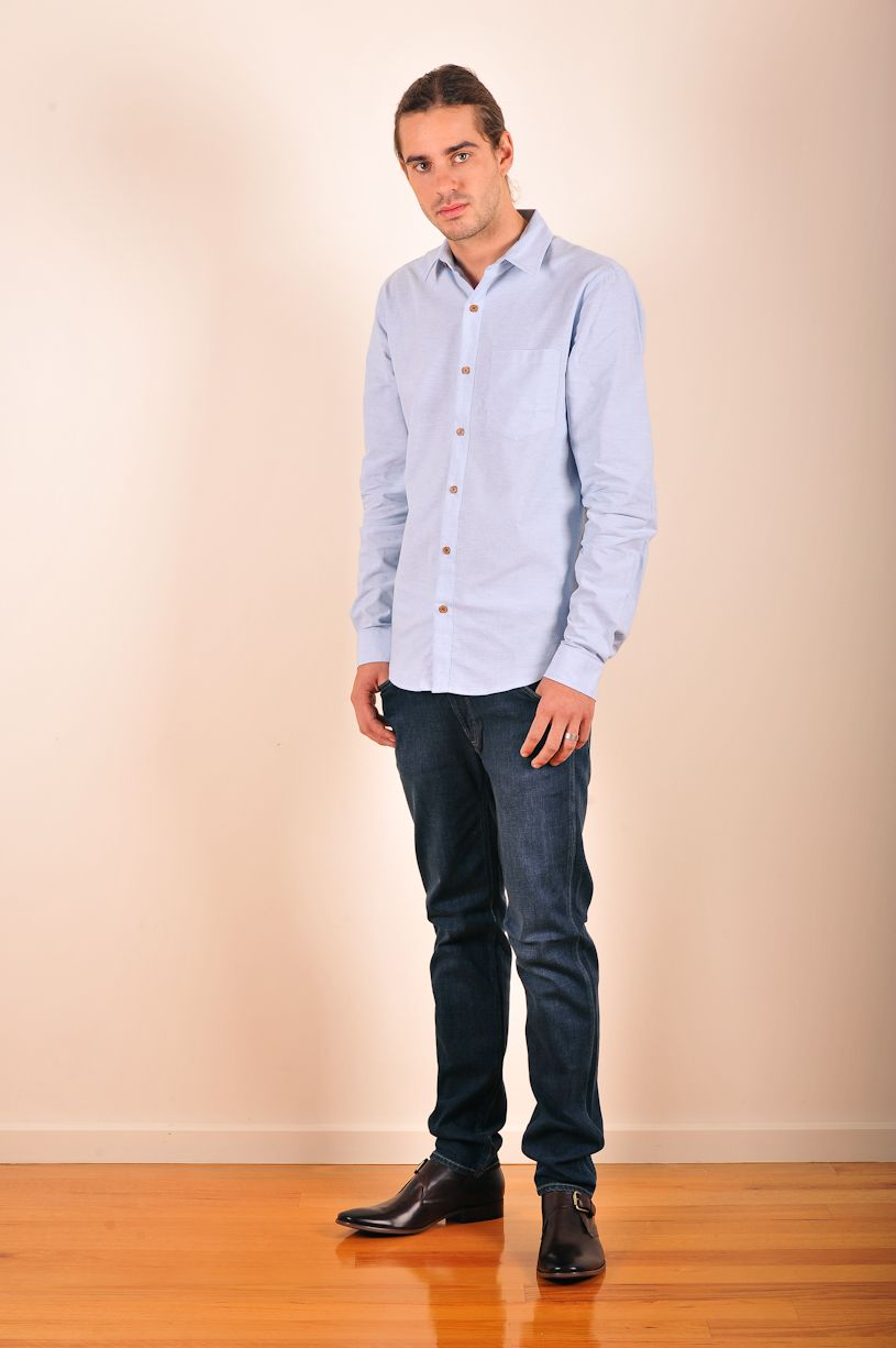 Classic chambray shirt by mr simple menus collection pinterest