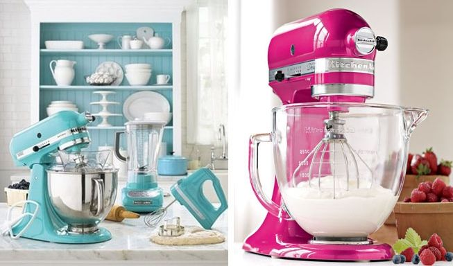 electrodomésticos, que han retomado diseños del pasado para dotar a nuestras cocinas de romanticismo y color, sobre todo color. Exprimidores, batidoras, cafeteras… de estilo vintage y diseñadas por multitud de firmas