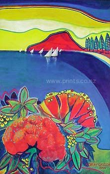 Pohutukawa by Rob McGregor for Sale - New Zealand Art Prints