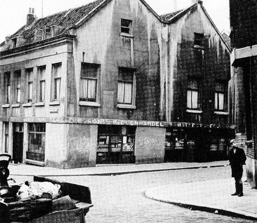Rotterdam crooswijk rubroekstraat 1950 my home townn for Rotterdam crooswijk