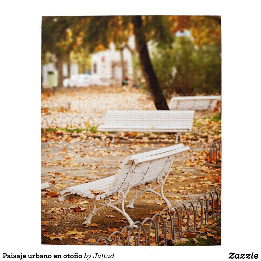 Paisaje urbano en otoño rompecabeza | Puzzles | Pinterest | Paisaje ...