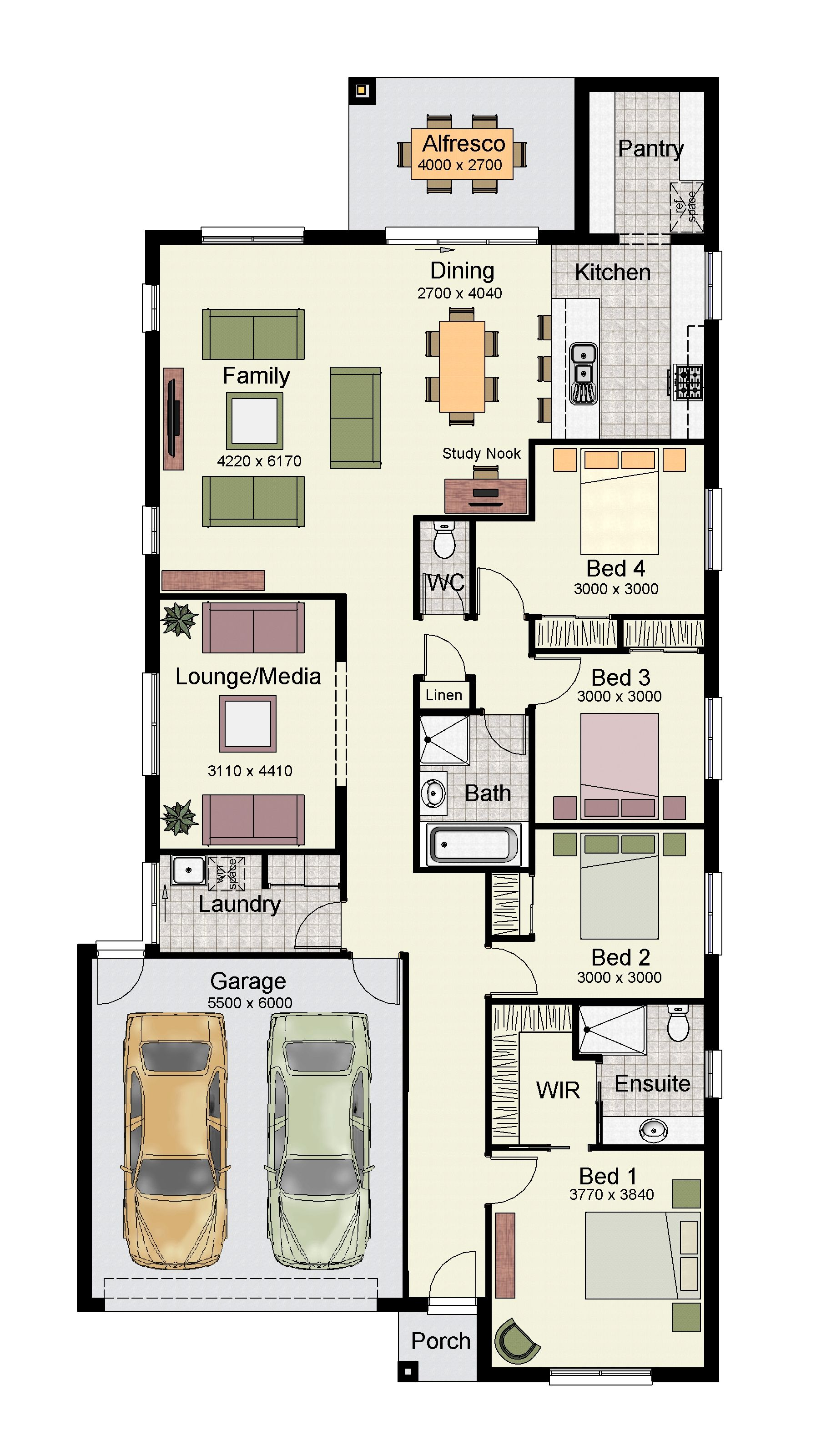 The Erskine 225 Is One Of Our Most Popular Designs One Floor House Plans My House Plans Small House Plans