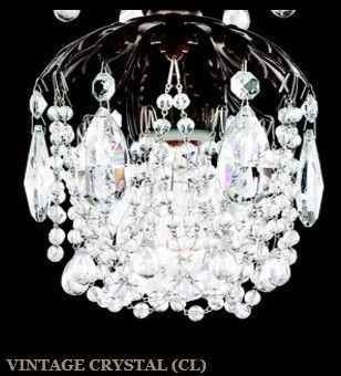 Schonbek 1256 Rondelle 8 Inch Bath Vanity Light