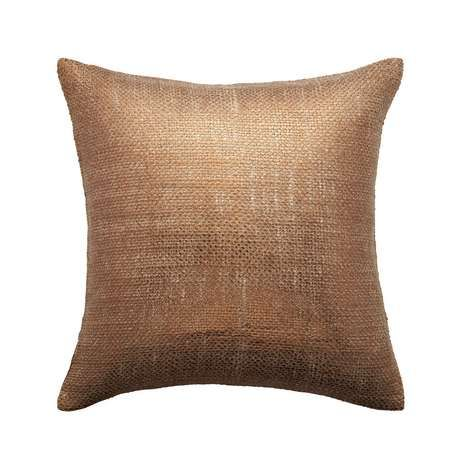 Best Bronze Shimmer Filled Square Cushion Pillows Bronze 640 x 480