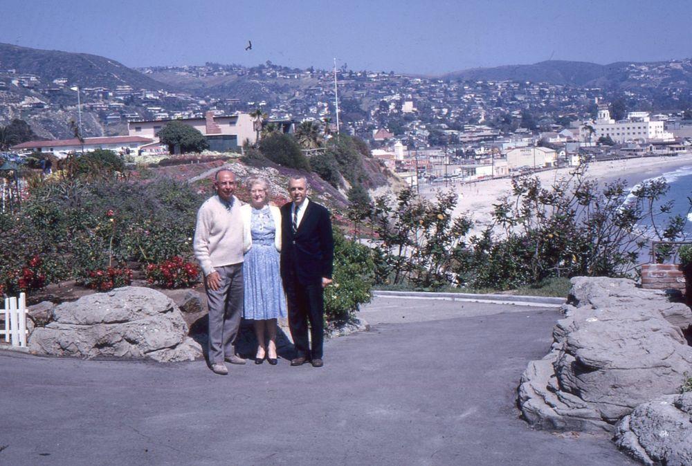 35mm Slides Laguna Beach Scenes 1965 Victor Hugo
