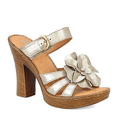 Born Anjelica Slide Sandals Dillards Shoes Slide