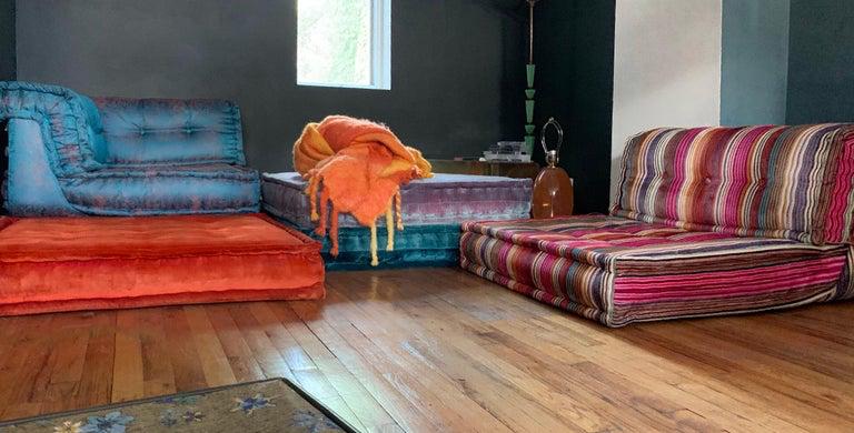 Le Mah Jong Modular Sofa Hans Hopfer Roche Bobois With Images