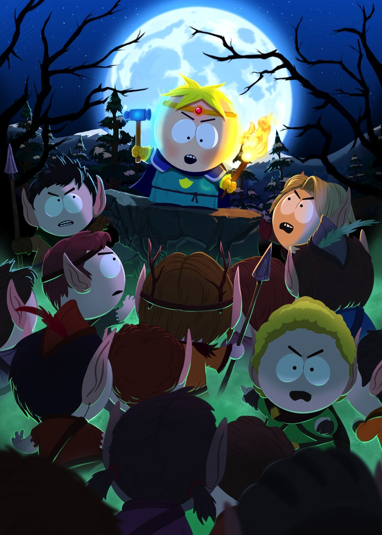 New Batch of Screenshots for South Park The Stick of