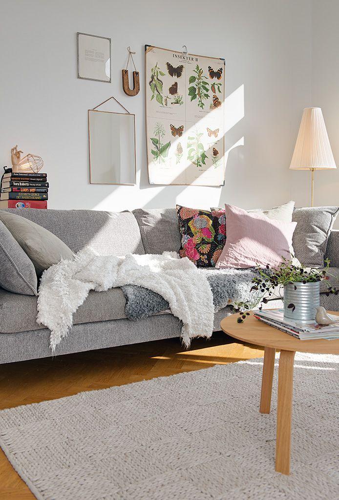 Sof gris una pieza atemporal reales pinterest sof sof s grises y muebles - Atemporal sofas ...