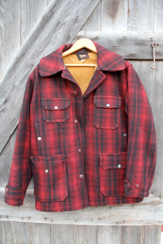 665844d3231fa Woolrich Woolen Mills Mackinaw Cruiser Woolen Mills, Vintage Looks, Vintage  Men, Buffalo Plaid