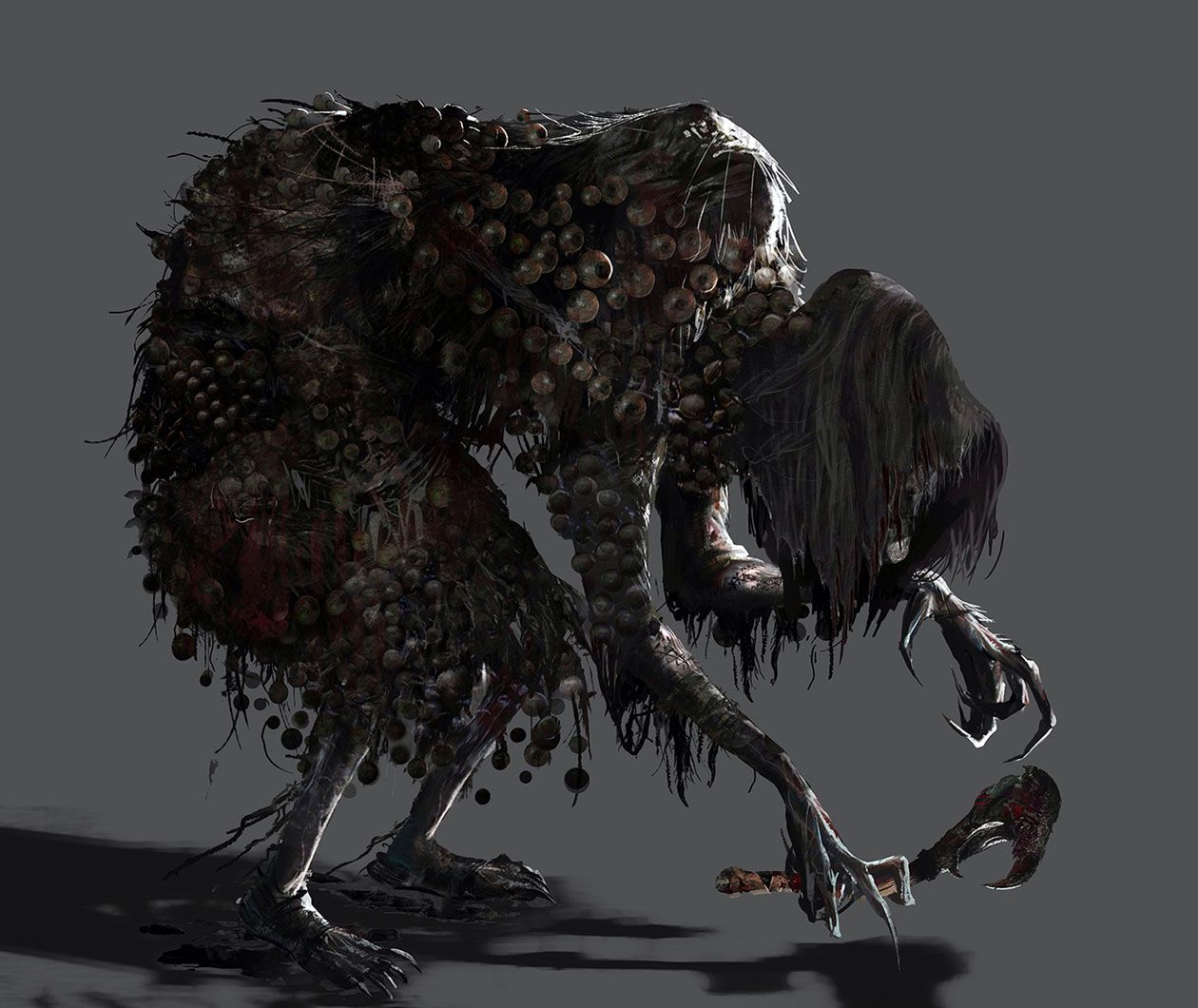 Witch Characters Art Bloodborne Bloodborne Concept Art