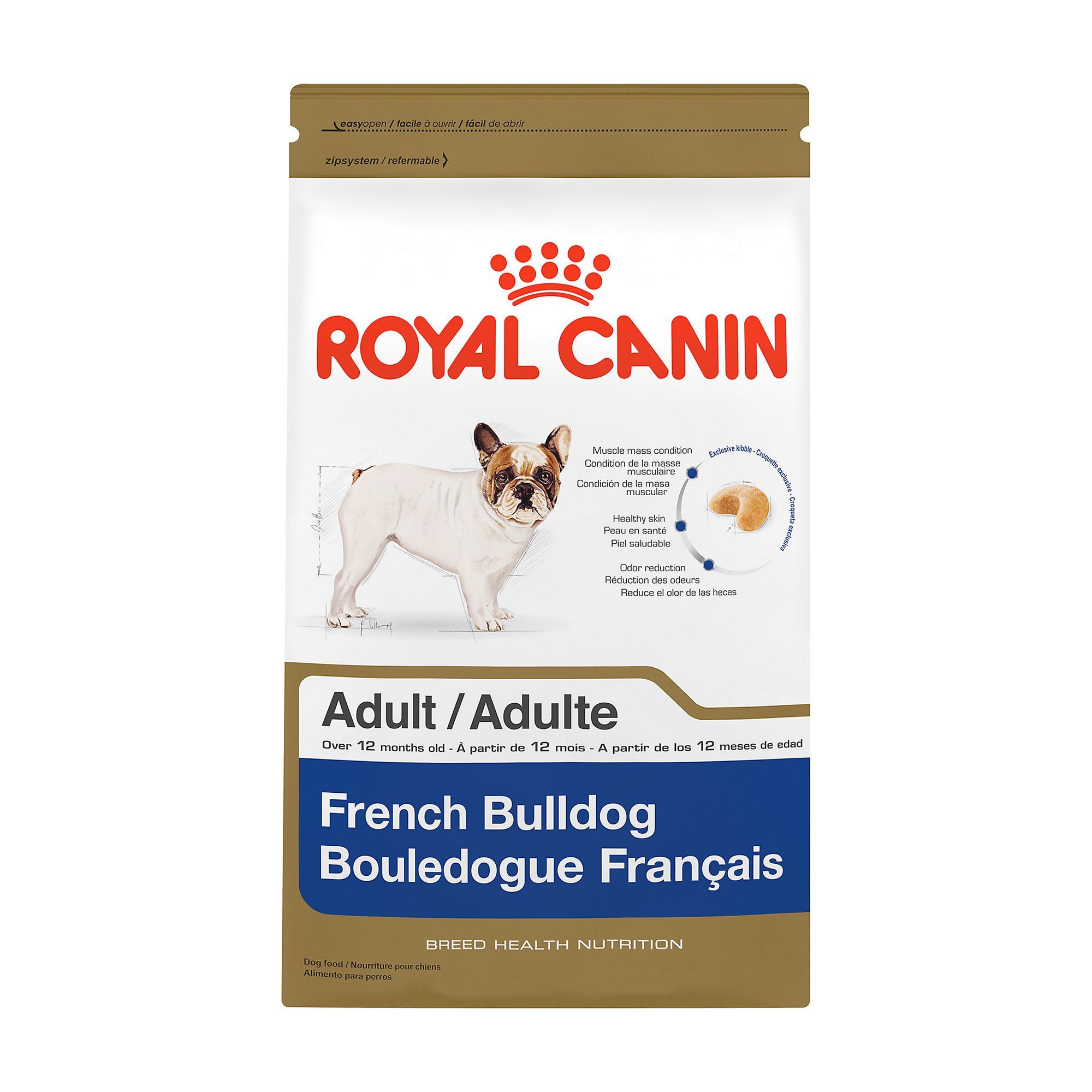 Royal Canin Breed Health Nutrition French Bulldog Adult Dog Food