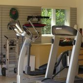 Garage Fitness Center with Epoxy Floor Coating San Francisco - Garage Remode ...   - Epoxy Ideas -...