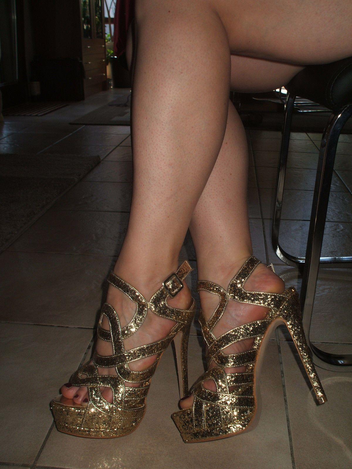 high heels pantoletten