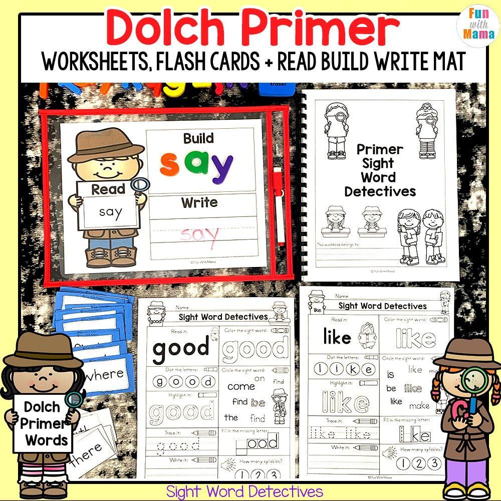 Kindergarten Sight Words Dolch Primer Sight Words Sight Words Kindergarten Kindergarten Worksheets Sight Words Dolch Sight Words Kindergarten [ 1000 x 1000 Pixel ]