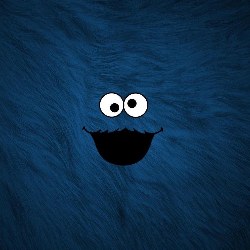 say hello to cookie monster every time you go on your ipad or iphone