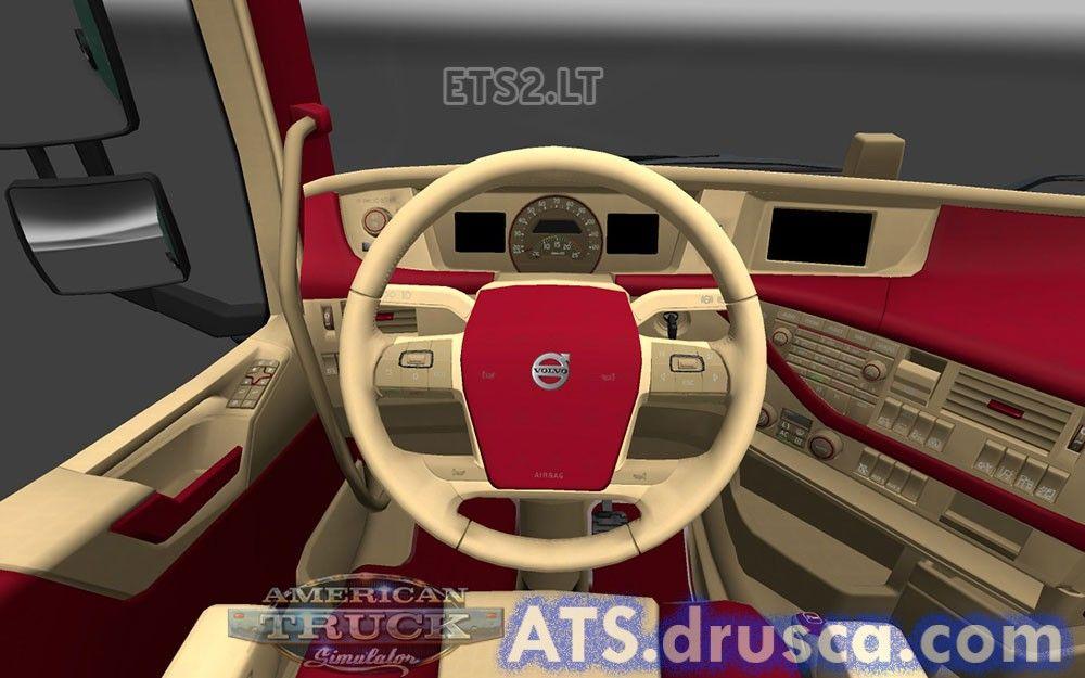 Volvo FH 2012 Interior | ATS mods | Volvo, American truck simulator