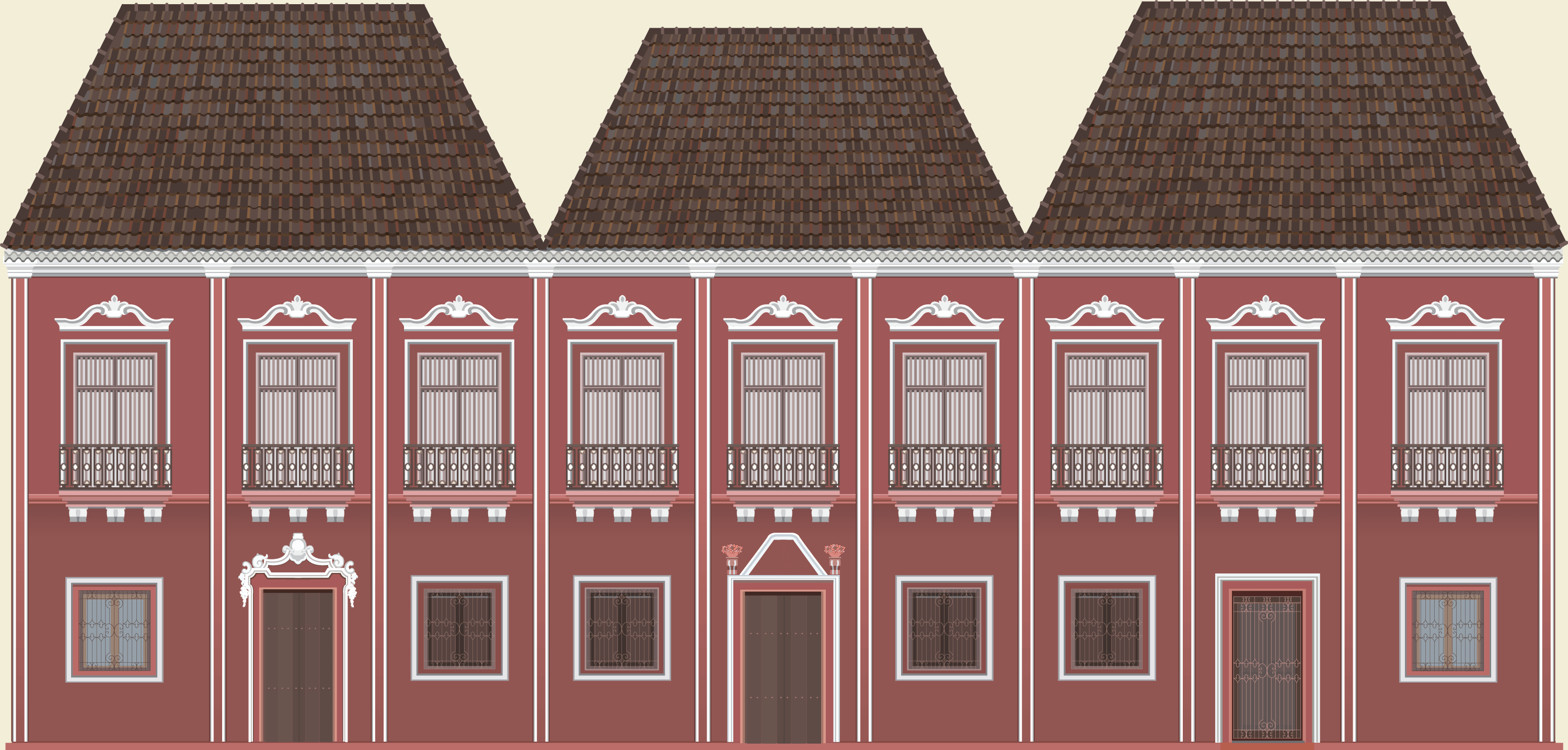 An Illustrated tribute to the beautiful Indo-Portuguese Architecture of Goa. A Project by Beard Design.