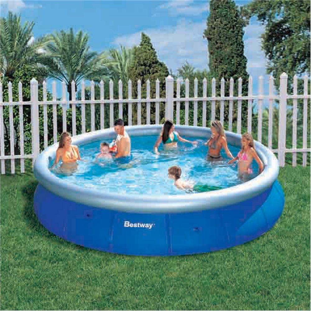 Bestway 15ft Fast Set Pool 99 99 Pool Above Ground Swimming