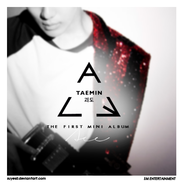 Taemin-ACE (Album Cover By Suyesil) by Suyesil deviantart