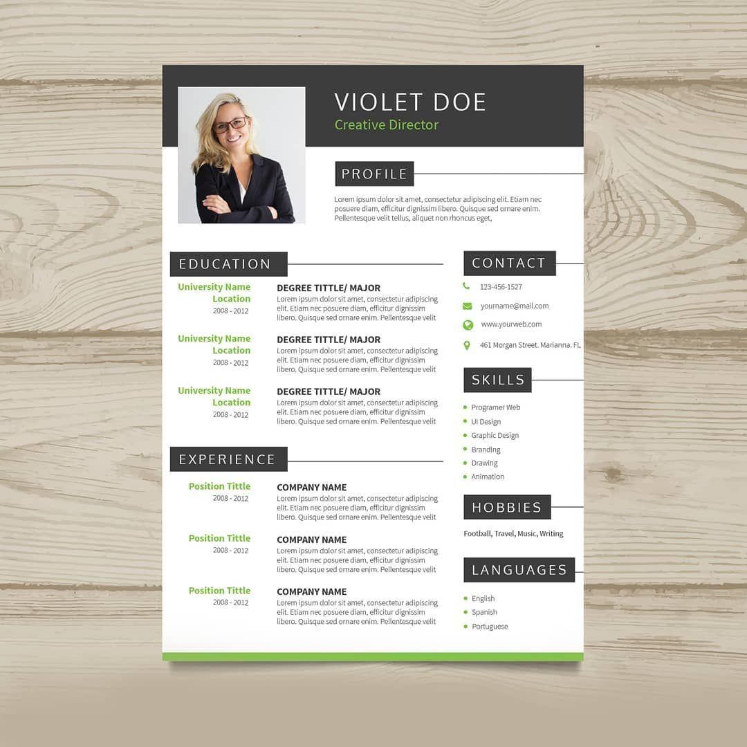 Plus de 50 Modèles de CV Design À Télécharger (avec images
