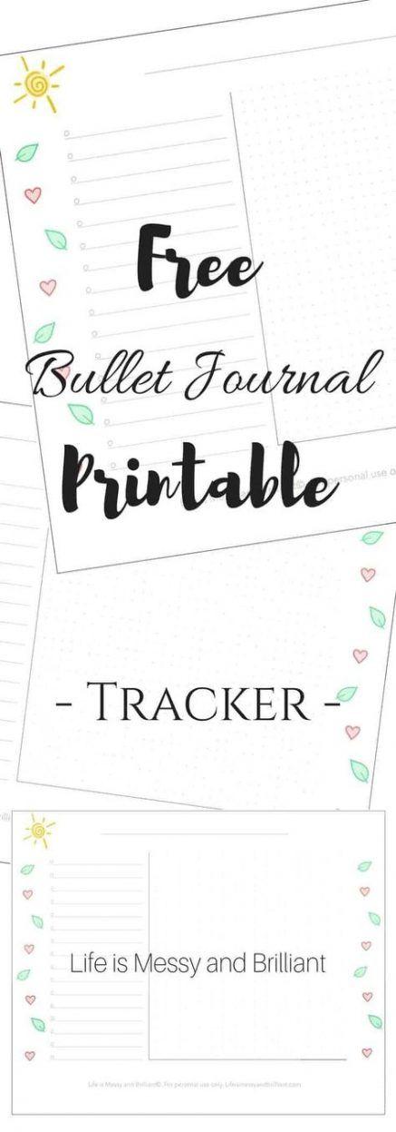 47+ Ideas fitness tracker printable bullet journal for 2019 #fitness