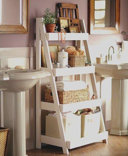 Toallas ba o estanteria practica almacenaje for Muebles para toallas