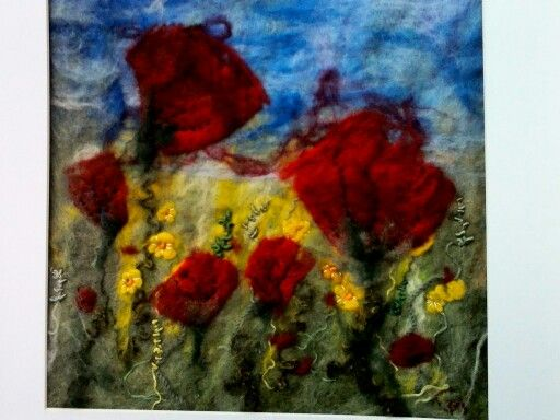 Wool felted