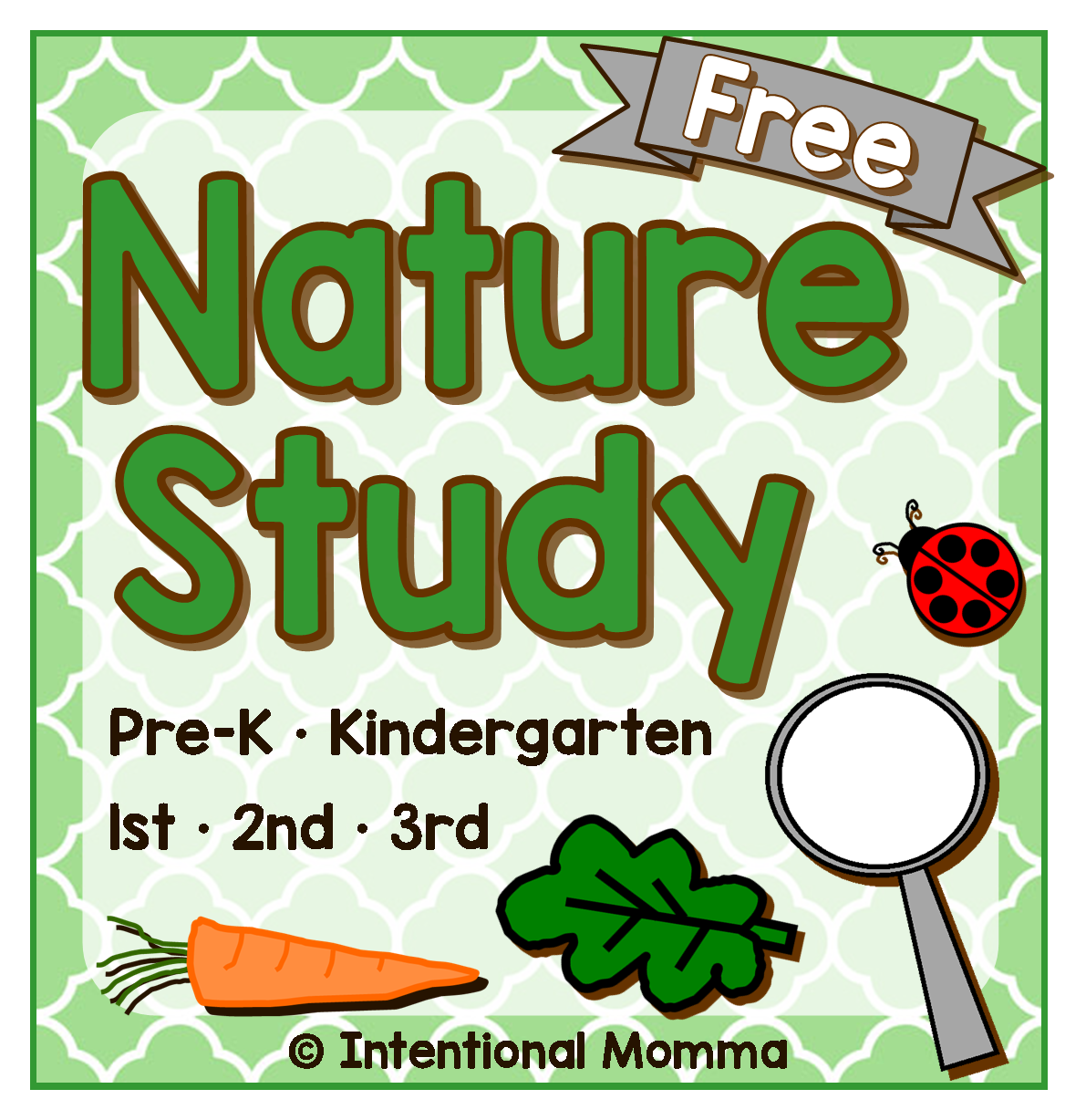 Free Printable Nature Study Pre K Through 3rd Grade