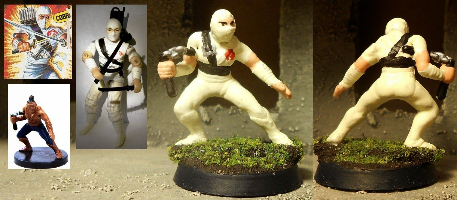 mini-ventures: Storm Shadow - Cobra Ninja