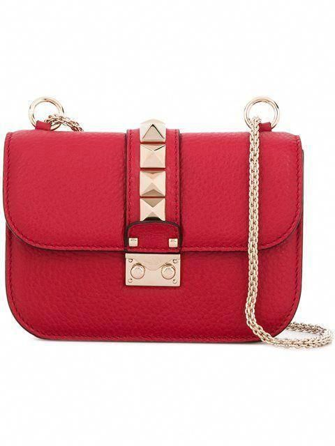 7debe887c54 VALENTINO mini 'Glam Lock' shoulder bag. #valentino #bags #shoulder ...