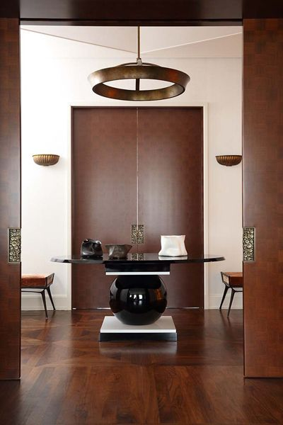 Contemporary Round Foyer Table : Contemporary entryway decor modern furniture statement