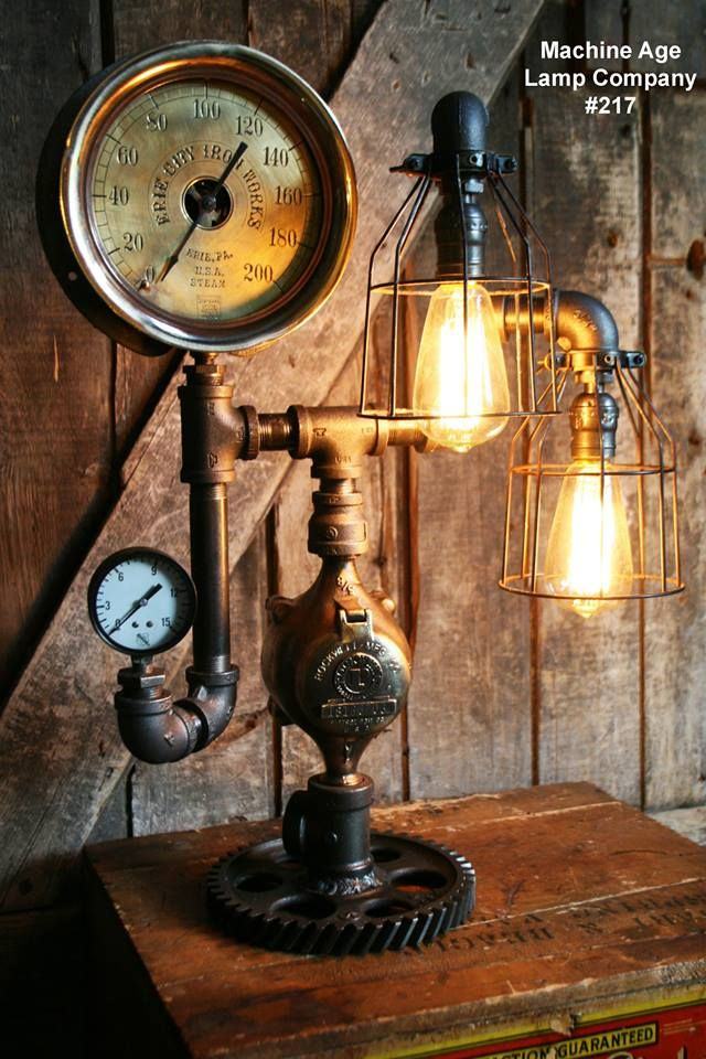 Machine Age Lamp Company Lamp #217