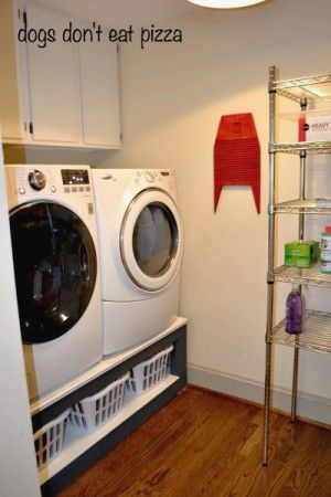 How to build a laundry pedestal do it yourself home projects from how to build a laundry pedestal diy projects laundry room storagelaundry solutioingenieria Gallery