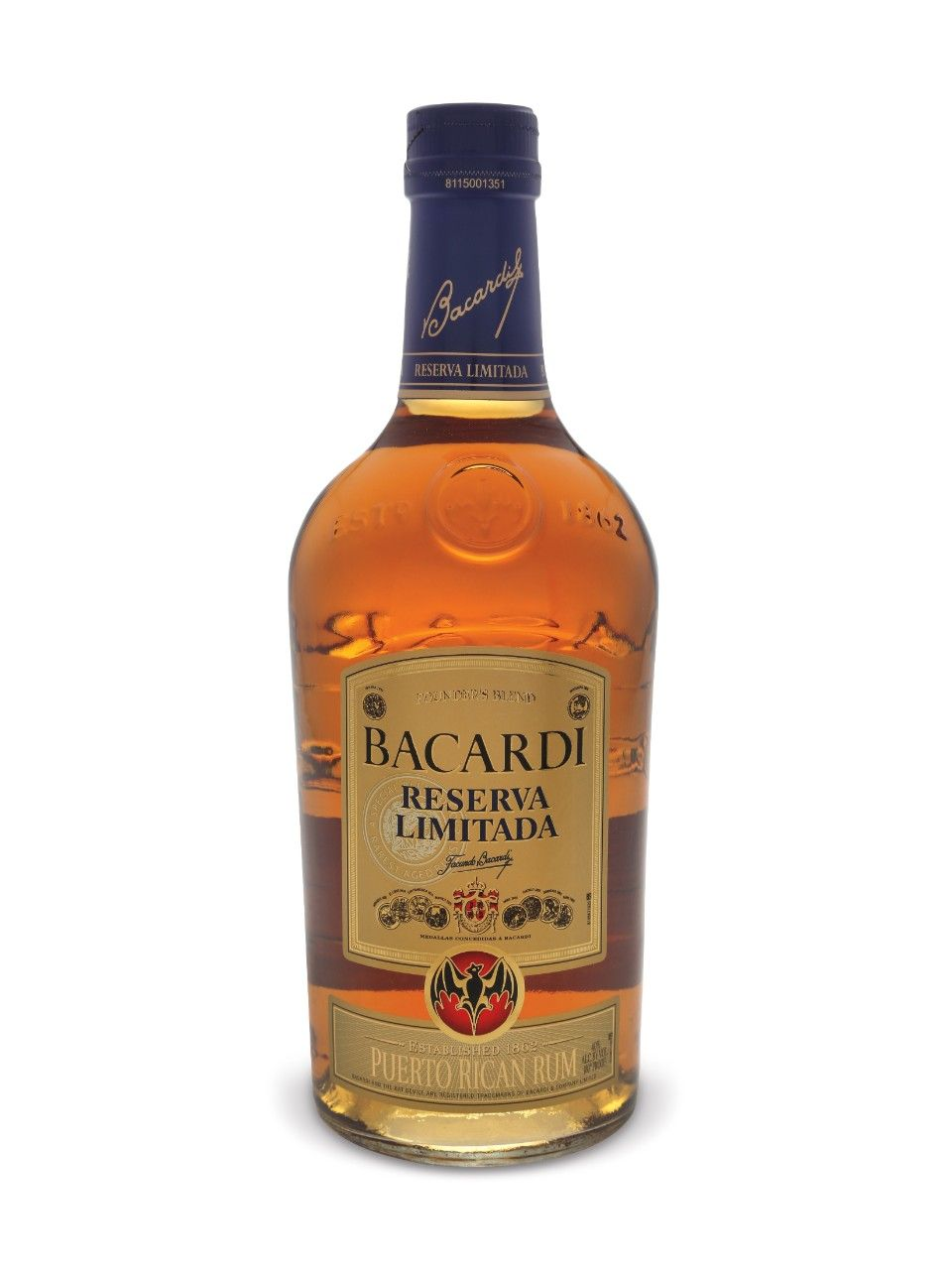 Rum and bacardi
