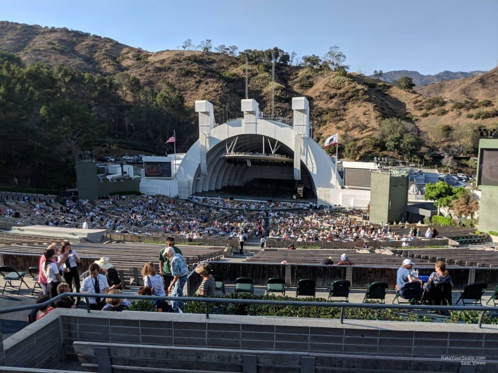 The Stylish Hollywood Bowl Seating Chart View Di 2020