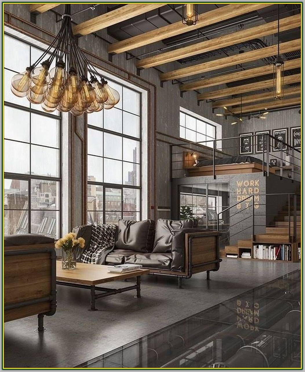 Design A Perfect Dining Room Interior With These Easy Tips Modern Interior Design Industrial Style Living Room Industrial Home Design Industrial Interior Design