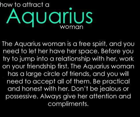 How to woo an aquarius woman