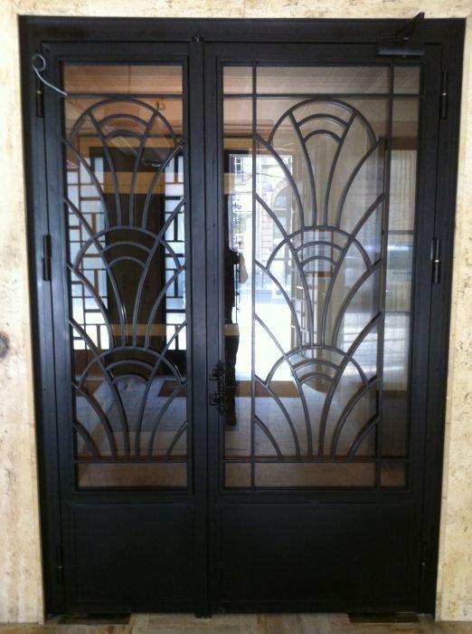 R sultat de recherche d 39 images pour porte art deco d co salle in 2019 portail fer forg - Porte art deco ...