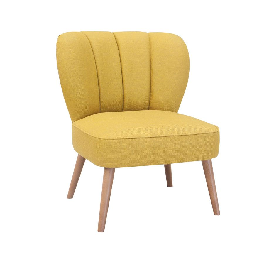 Lounge Chair With Curved Back Available In Button Back Or Fluted Fully Upholstered In Fabric Leather Or Faux Leather Sol Chair Lounge Chair Hotel Furniture