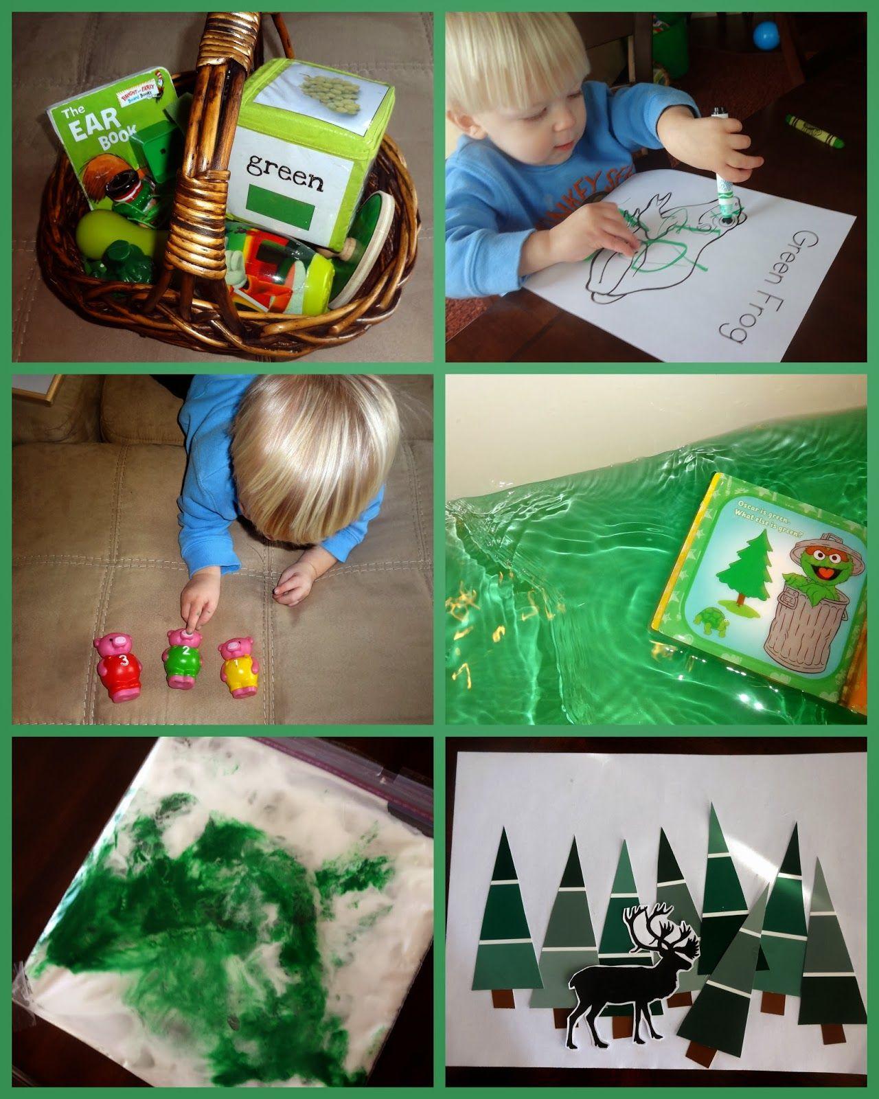 Mom\'s Tot School: The Color Green   tot school.   Pinterest   Tot ...