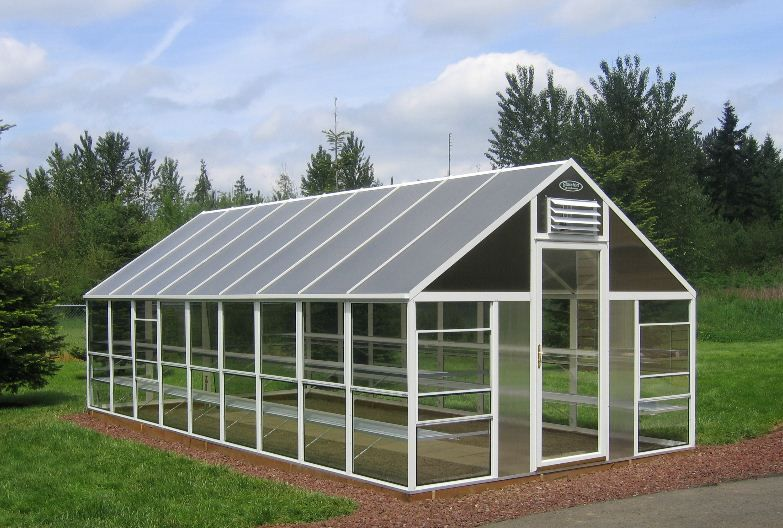 Greenhouse Greenhouse, Fire pit landscaping, Diy
