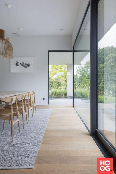 Woonkamer ontwerp met houten vloer | Vloer woonkamer | Pinterest