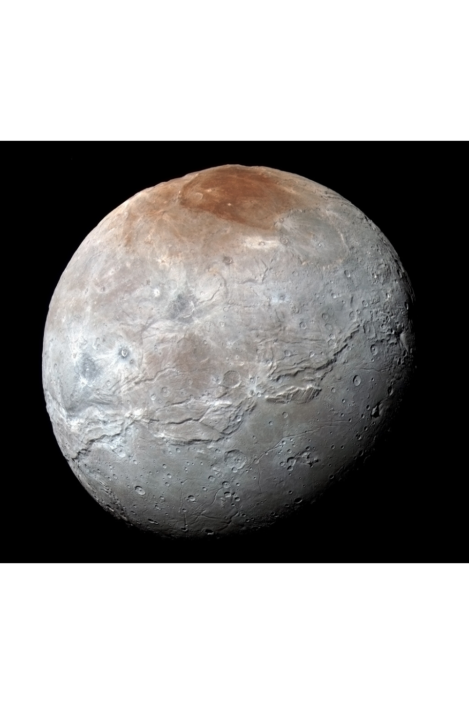 Charon Moon Of Pluto Pluto Charon Moon