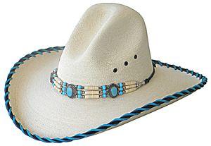 Mountain Heart Concho Hat White - Western Wear, Equestrian