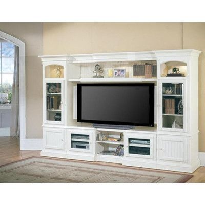 Photo of Rosecliff Heights Gallo Solid Wood Entertainment Center for …