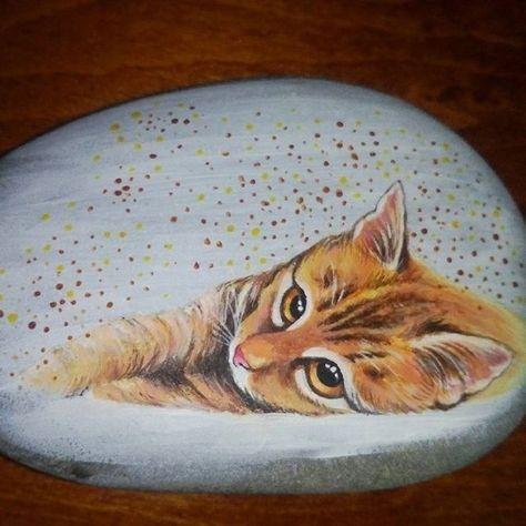 50 Best Animal Painted Rocks For Beginner Rock Painters Steine
