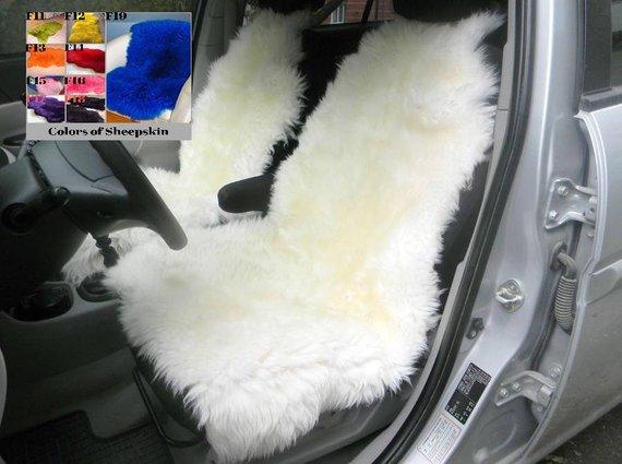 Sheepskin Car Seat Cover 45x20inch Universal Genuine Sheepskin Etsy Sheepskin Car Seat Covers Sheepskin Seat Covers Car Seats